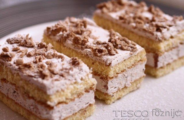 Gesztenyés szelet | Recept | TESCO - Főzni jó