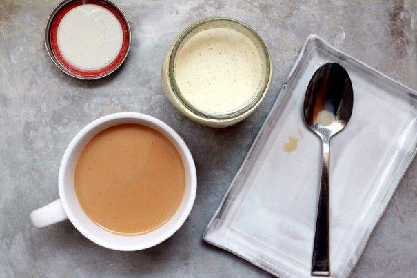 Homemade coffe creamer