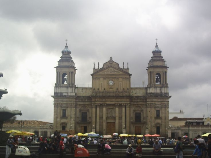 Catedral de Ciudad de Guatemala, agosto 2013