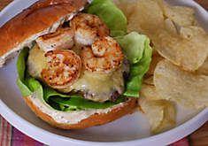 Wagyu Burgers with Spiced Shrimp & Remoulade Recipe | D'Artagnan