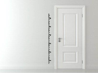 Best Creating With Decals Images On Pinterest Home Children - Ruler growth chart vinyl decal