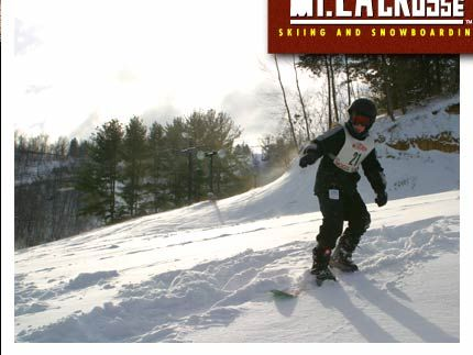 Mt LaCrosse Skiing and Snowboarding  LaCrosse, Wisconsin: My Friend