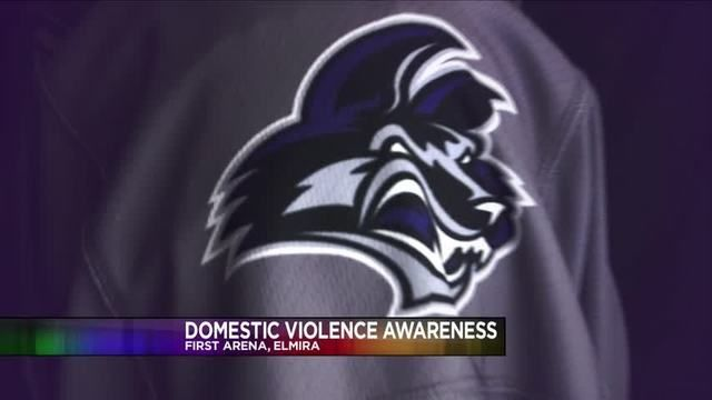 to honor the life of Kelley Stage-Clayton, the Elmira Jackals will hold a Domestic Violence Awareness Night on Saturday, March 18th. We will be there with resources/information.
