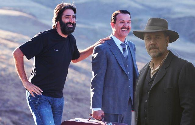 Mahsun Kırmızıgül Russel Crowe'u Yendi; Russell Crowe'un yönetip Yılmaz Erdoğan ve Cem Yılmaz'la oynadığı 'Son Umut' gişede Kırmızıgül'ün 'Mucize'sine yenildi.