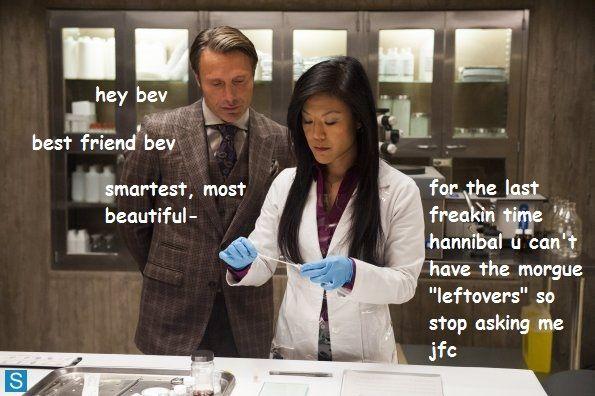 Mean Cannibals. #Hannibal