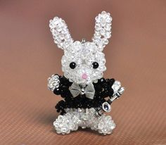 Saxophone player bunny - pattern