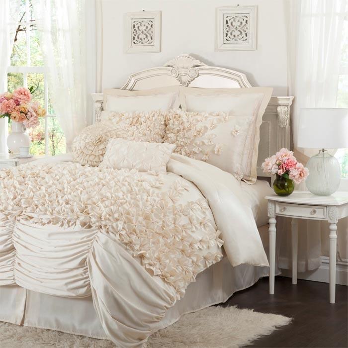 4 Piece Talia Queen Comforter Set
