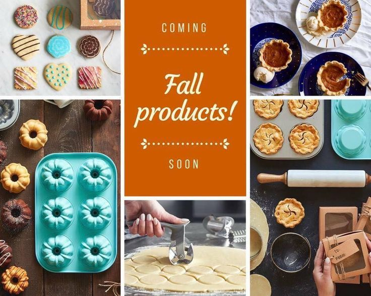 New Pampered Chef Products Coming Fall 2017!!