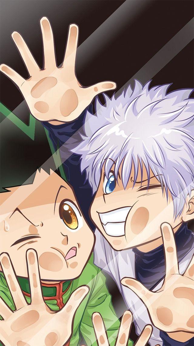 Gon and Killua wallpaper (With images) Hunter anime
