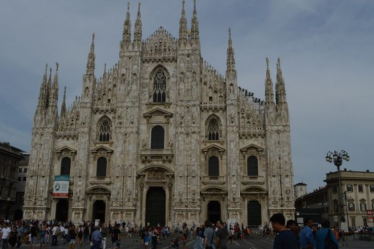 cathedrale dome de Milan-famille nomade digitale en Italie