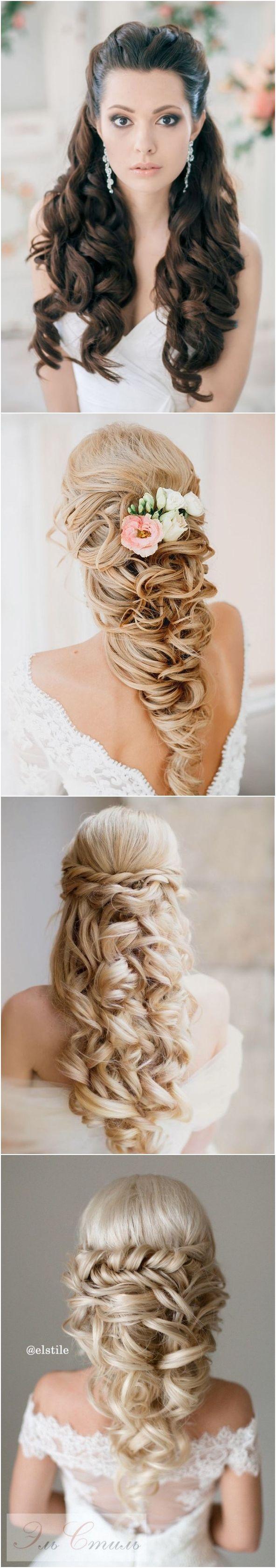 best 20+ half up half down wedding hair ideas on pinterest | half