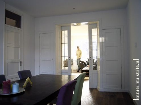 17 beste afbeeldingen over ensuite op pinterest schuifdeuren grijze kasten en terrasdeuren - Deco kamer bruin ...