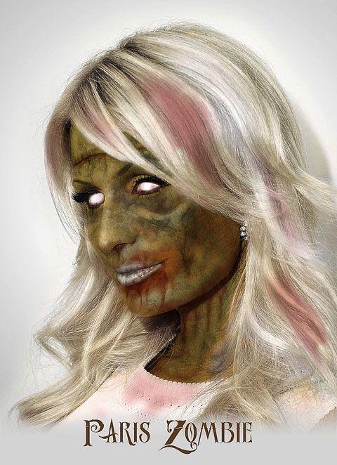 Les célébrités Zombies by Daniel A. Nardes