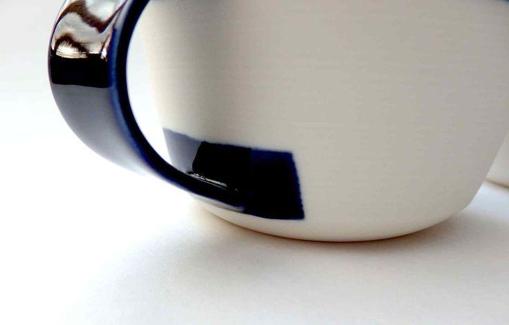 porcelain cup, detail