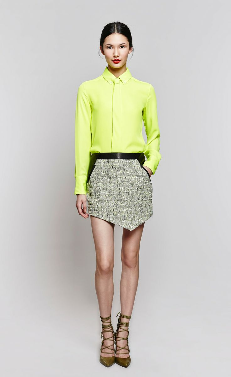 Classic Charlie Tie Blouse
