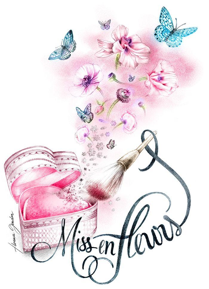 Illustration cosmétique pour PAULETTE MAGAZINE Florence Gendre