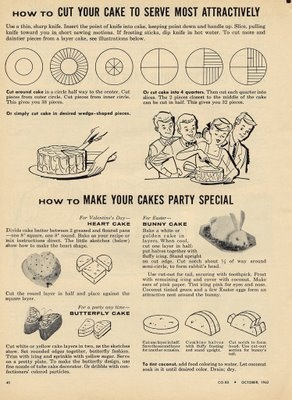 how to cut your cake