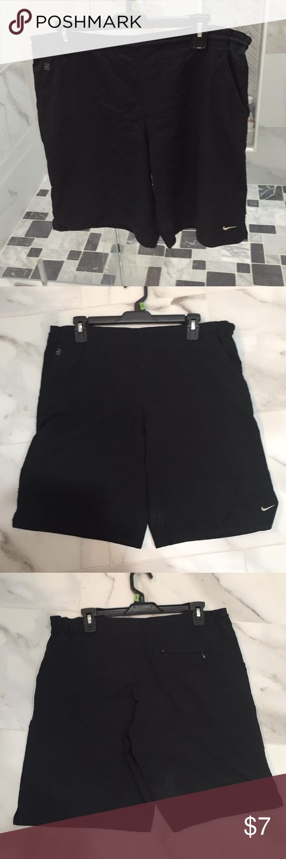 Nike Dri-Fit Shorts Nike Dri-Fit shorts men's size Large. Good condition but does have some marks on them shown in pictures Nike Shorts Athletic