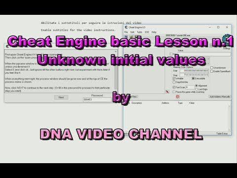 Tutorial Cheat Engine Lezione base 1 - Valori iniziali sconosciuti -  An...
