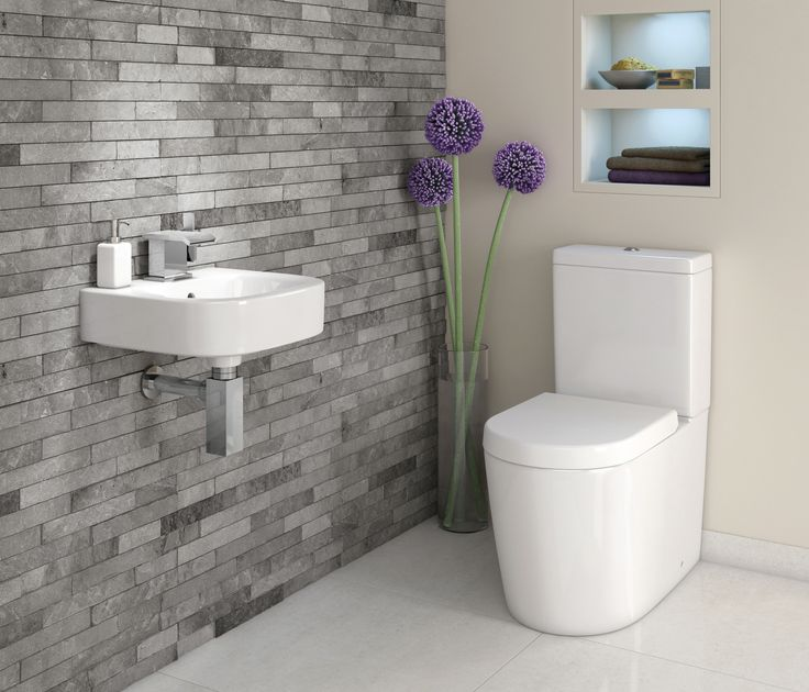 On Pinterest Half Bathroom Decor Toilet Ideas And Cloakroom