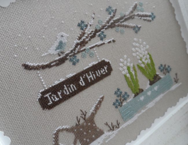 Jardin d'hiver - Une croix le temps d'un thé