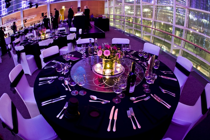 Purple + Black = stunning! Find more Asian wedding venues in our #asianweddingdirectory: http://www.yourdreamshaadi.co.uk/asianweddingdirectory.php