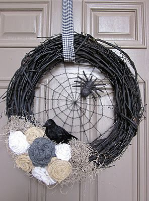 is it too early to start thinking about Halloween?! Finding some super cute stuff to make for our house!!