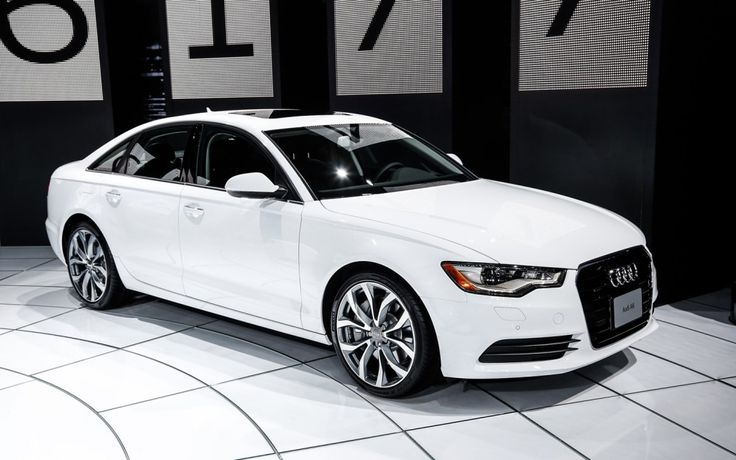 2014 Audi A6....dream car, me an my future hubby will eventually have one, I usually go for black/black leather but I'm kinda liking the white...