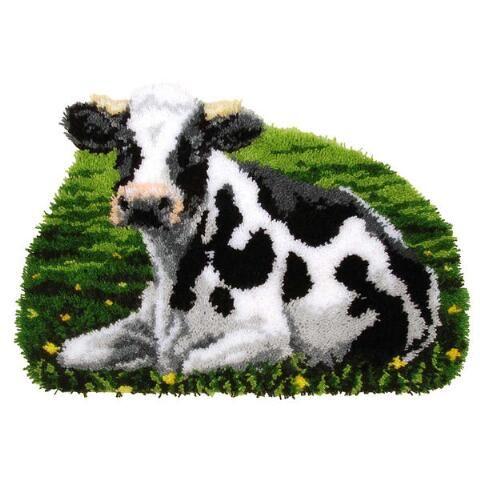 Cow Latch Hook Kit - Herrschners