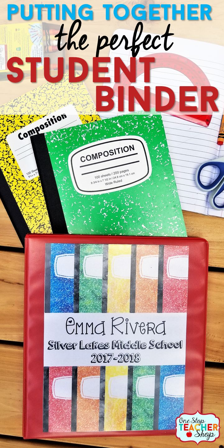 Learn how to put together student binders to keep students organized! Student Agendas, Calendars, Progress Reports, Student Data Tracking, and so much more! Student Agendas | Student Organization | Classroom Organization | Student Data Binder