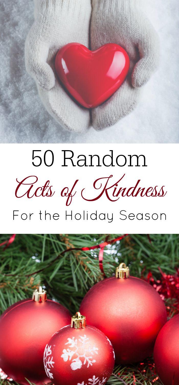 Random Acts of Kindness, RAOK, Christmas kindness, giving back