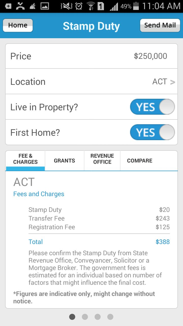 Know about the #StampDuty estimated charges and applicable grants, concessions using #LoansDirect #StampDutyCalculator