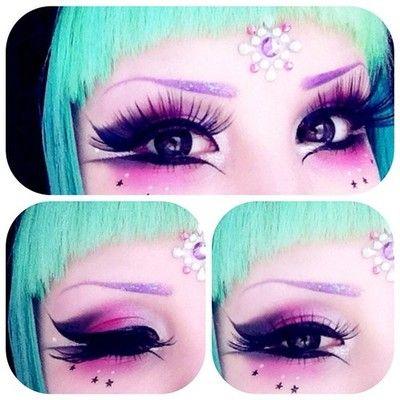 mashyumaro: I had a fairly strong makeup game today, I think. ☆