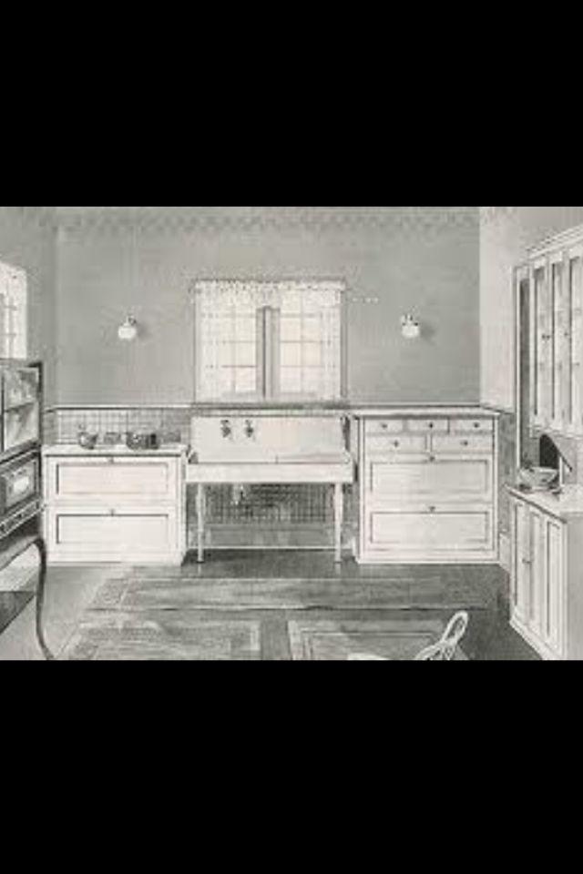 1900s Kitchen