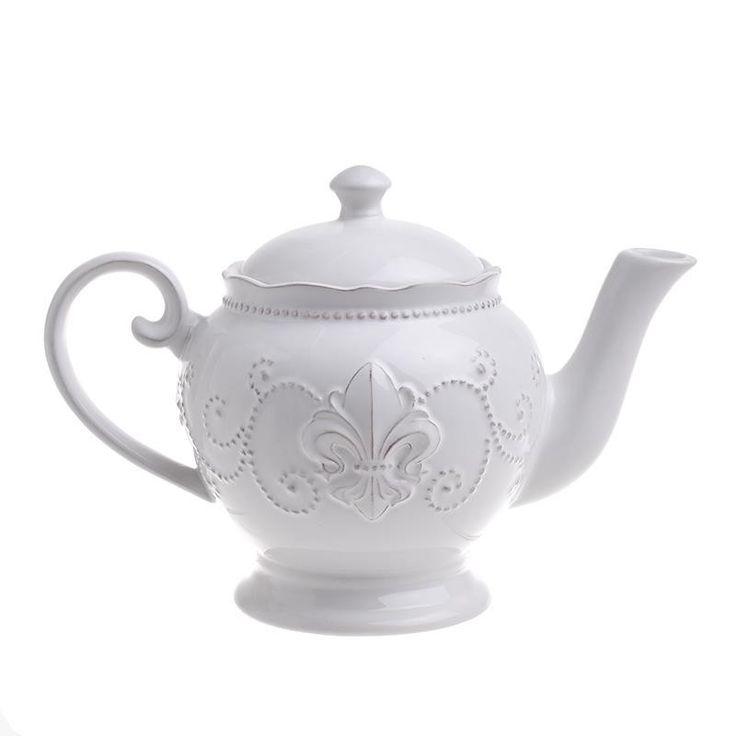 Stoneware Teapot - inart