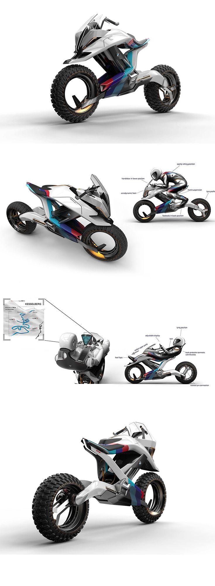 Das BMW Motorrad Concept Z & # 39; Bike-Design passt sich an Pendler- und Sport-App …   – bmw k1200s