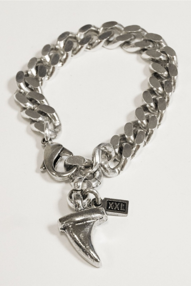 The Mens Bracelet P208 by XXL Hardwear is only for tough guys - someone like you! Find the silver jewellery @ www.BootsJeansandLeathers.com