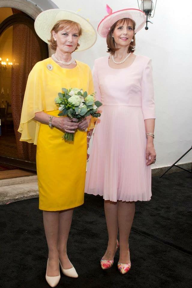 Princess Margaret von Hohenzollern-Sigmaringen and youngest sister, Princess Marie