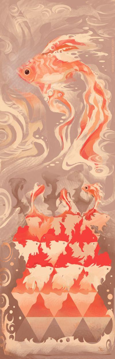 Cornelis Dreams Of Goldfish by SylviaRitter
