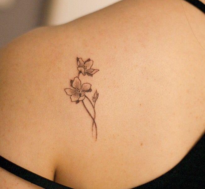 Jasmine Flower Tattoo Jasmine Tatuagem Tatuagens De Flores De