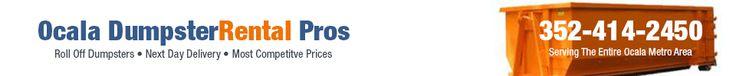 Ocala Dumpster Rental Pros  5850 Southeast 5th St 5850 Southeast 5th St