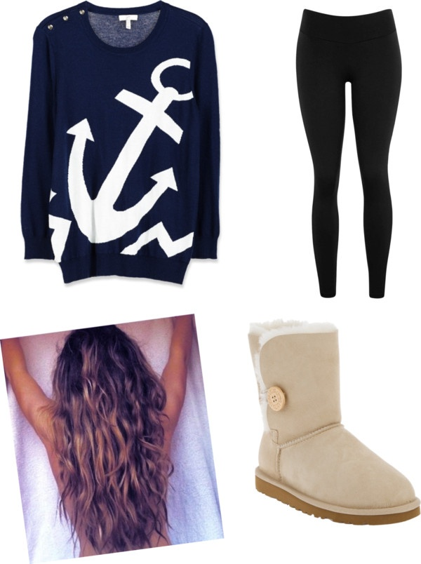 """Cute Anchor Outfit"" by fistokes on Polyvore"