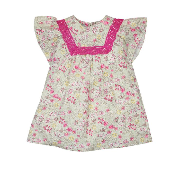 Candy Flower Dress from Lace & Ribbons