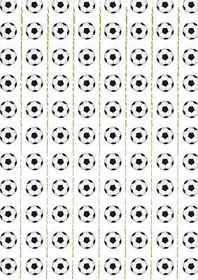 Fazendo a Minha Festa Infantil: Festinha de Futebol com Moldes!