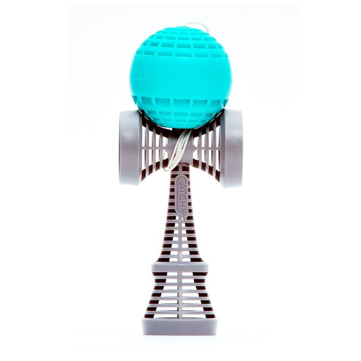 Catchy AIR Kendama - Teal and Gray