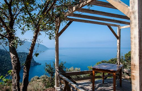 Kabak, near Olu Deniz, Turkey | Where to go on holiday in October | http://www.weather2travel.com/holidays/where-to-go-on-holiday-in-october-for-the-best-hot-and-sunny-weather.php #weather #travel