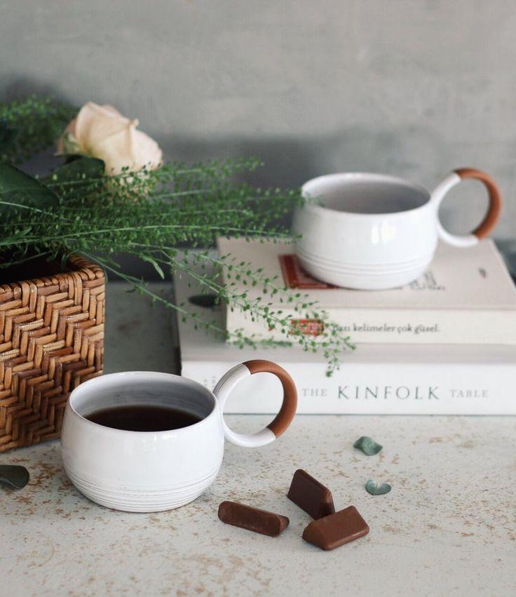 Kinfolk Table, Lügat 365; Patika Kitabevi / Bardaklar; sakuhandmade