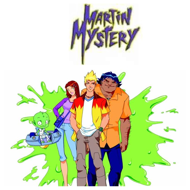 Martin mystery. It makes me so sad that no one seems to know this show