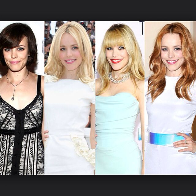 Which is your favourite Rachel McAdams hair colour? We picked light blonde... Comment your favourite...
