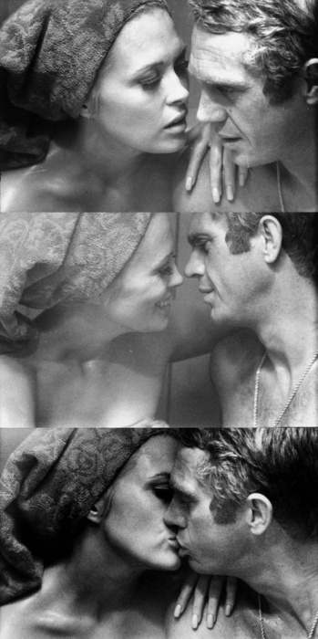 Faye Dunaway & Steve McQueen - The Thomas Crown Affair directed by Norman Jewison (1961)